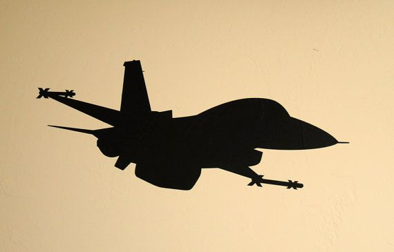 F 16 Fighter Jet Wall Decal Etsy Dog Wall Art Wall Decals Music Notes Art