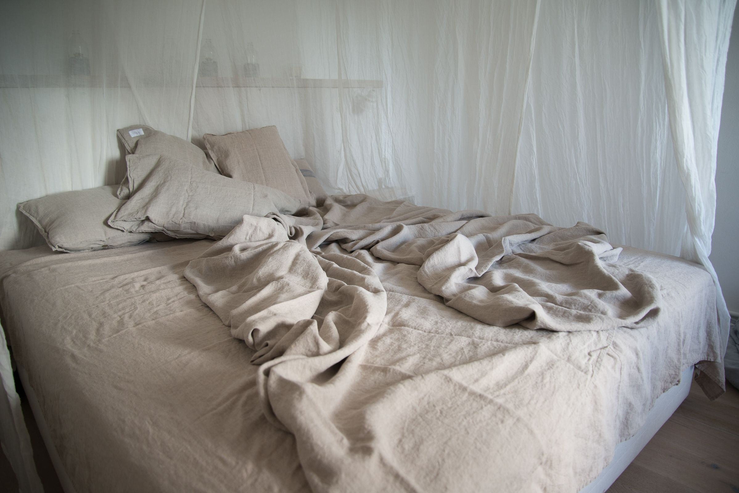 beautiful einfache dekoration und mobel bettwaesche zum wohlfuhlen #1: Bettwäsche. TextilienSchlichtEinfachDekoBarfuß