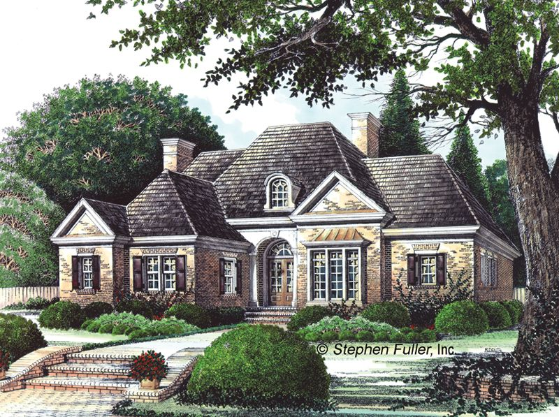 eplans french country house plan rooms with a view 2160 square feet and 3 bedroomss from eplans house plan code such a great design - French Country Ranch House Plans