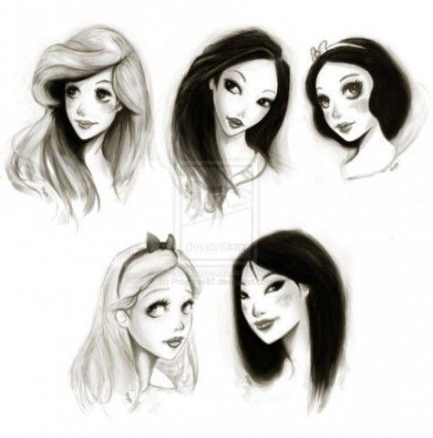 Princesas de disney, con las que crecí.