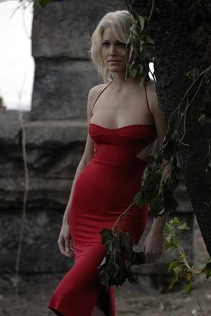 Caprica 6 red dress buy 4 less