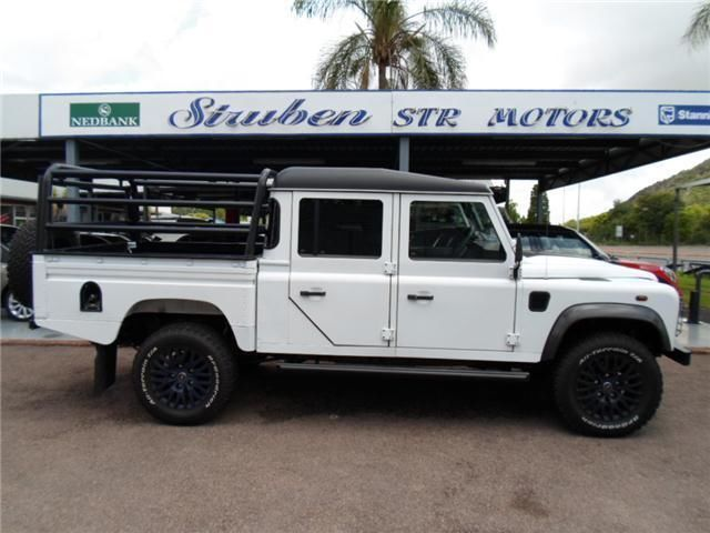2014 Land Rover Defender 130 2.2 TD Crew Cab HCPU, WHITE with 3522km