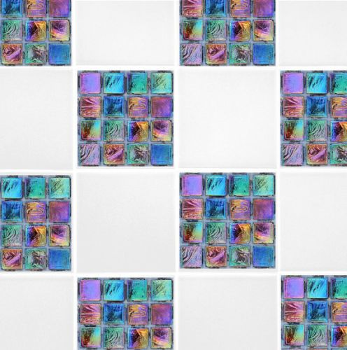 Tile Transfers For Bathroom. Rainbow Mosaic Self Adhesive Tile Transfer Stickers Bathroom Kitchen