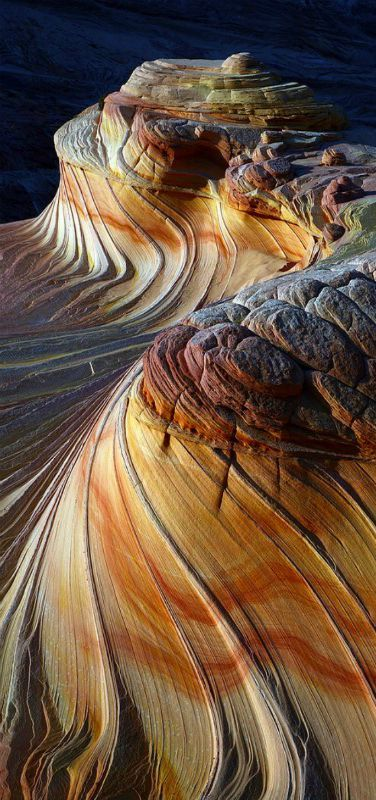 Sunset at Second Wave Coyote Buttes North Paria Vermilion Cliffs Wilderness Arizona, USA | by Alex Donnelly