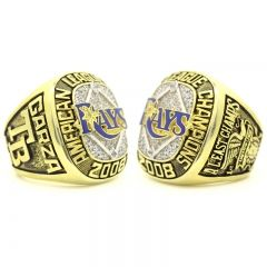2008 Tampa Bay Rays American League Championship Ring American League Championship Rings Rings
