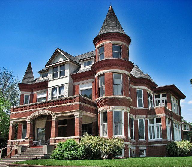 Mansion In Decatur Illinois Ive Always Wanted To Live This House