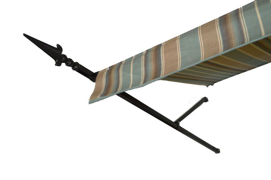 Spear Door Awnings- Made with Real Wrought Iron and ...