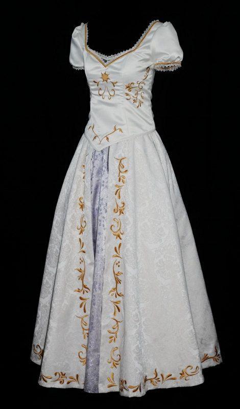 Rapunzel Wedding Costume Custom Made Por Neverbugcreations 900 00 Disney Board In 2018 Pinterest Dresses Costumes And