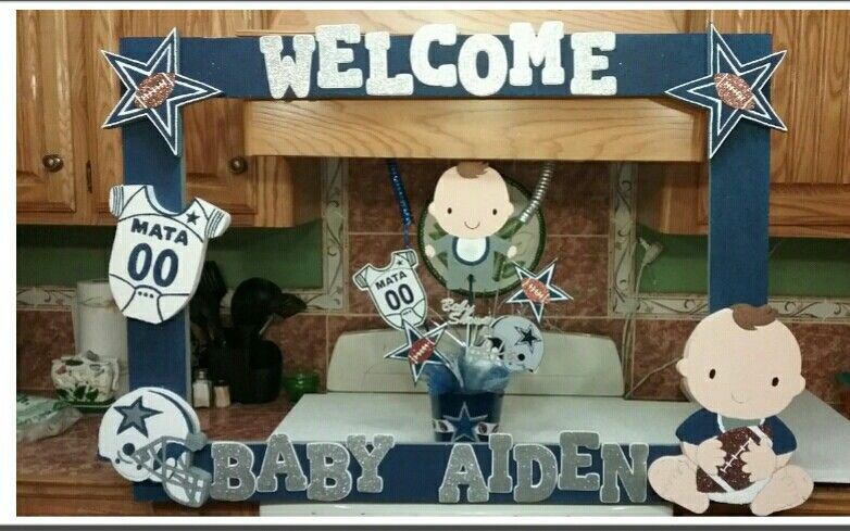 Marco Dallas Cowboys Baby Shower
