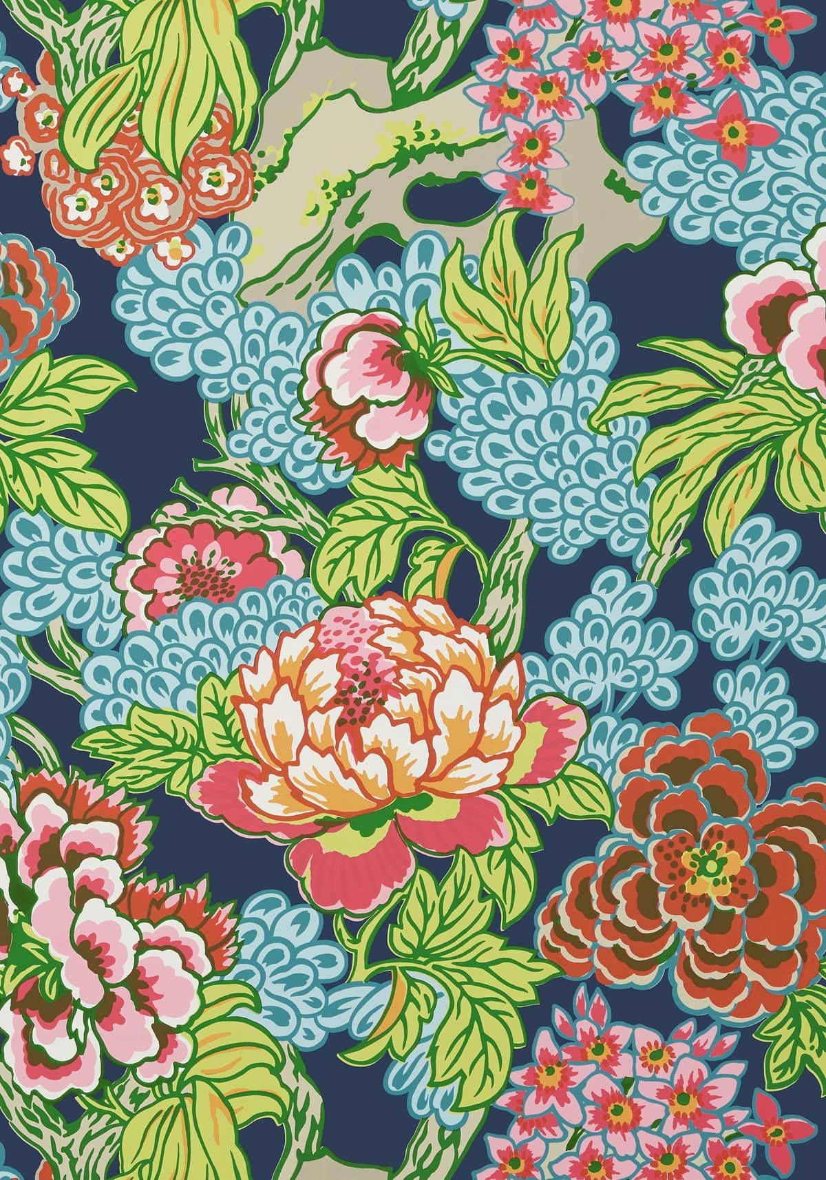 Honshu Wallpaper Bathroom wallpaper, Asian wallpaper