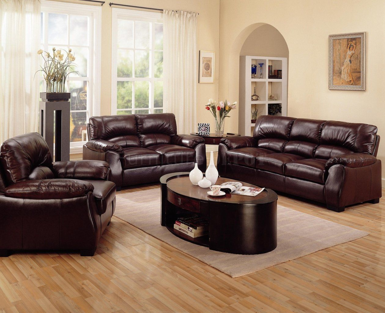 Living Room Leather Sofas Brown Sofa Living Room Decor  Căutare Google  Living Room .
