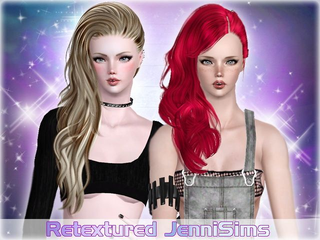Nightcrawler and Peggy Hair retextured by Jenny Sims for Sims 3 - Sims Hairs - http://simshairs.com/nightcrawler-and-peggy-hair-retextured-by-jenny-sims/