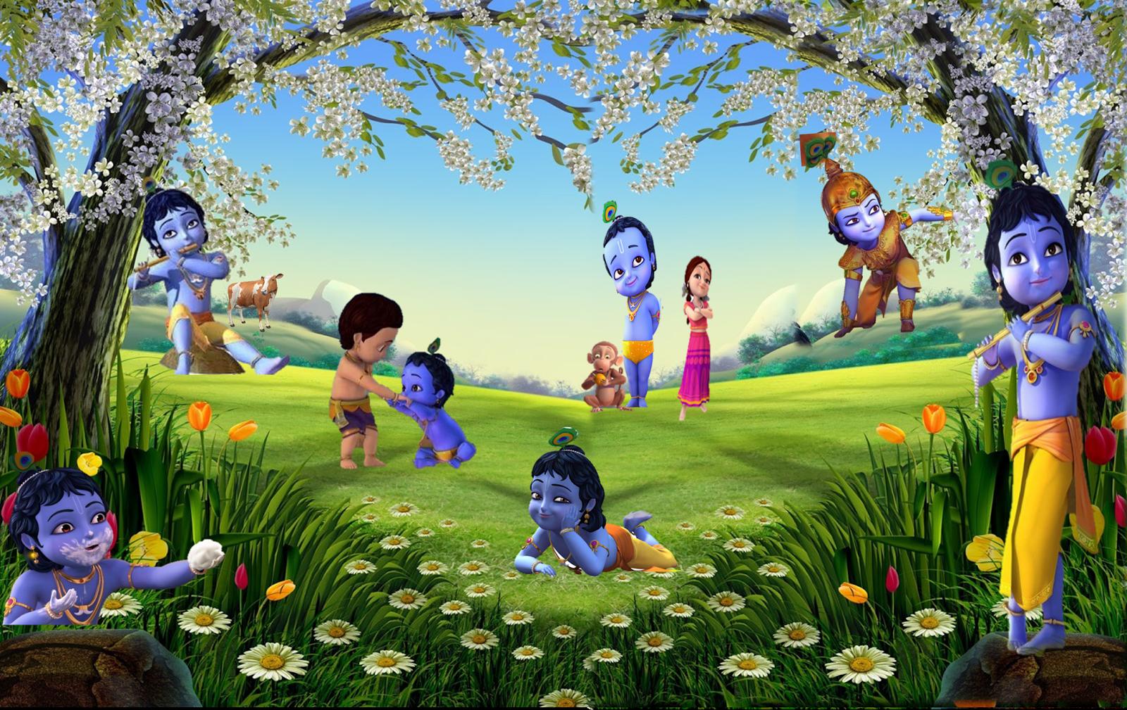 Krishna Wallpaper Hd Little Krishna Krishna Wallpaper Krishna Birthday