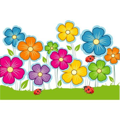 Resultado De Imagem Para Desenho Flores Coloridas Desenhos