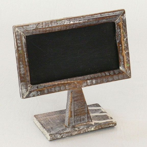 Small Rustic Tabletop Chalkboard