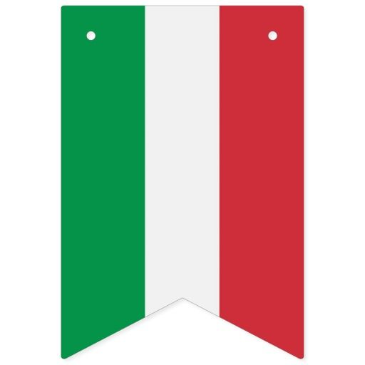 Italian Flag Party Banner With The Flag Of Italy Zazzle Com Italy Party Theme Italian Themed Parties Italian Party Decorations