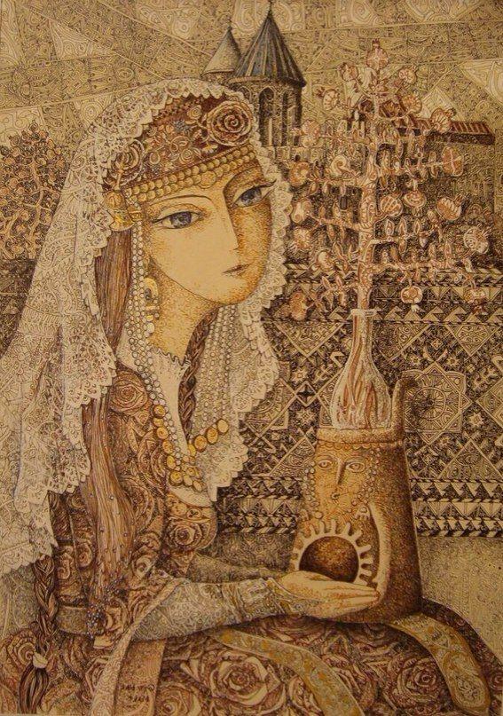 Artwork by Gev Mart (Armenian artist located in Yerevan) | he-Art <3