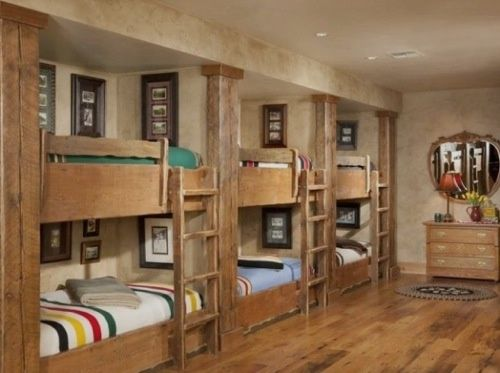lodge style living room furniture design. Cabin Style Decorating | Triple Bunk Bed Ski Lodge \u2013 Living Room Furniture Design R