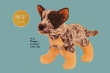 "Clanger Australian Cattledog 8"" by Douglas Cuddle Toys. Available at OurPamperedHome.com"