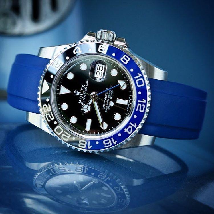 Everest Rubber Strap for Rolex Rolex watches, Rolex