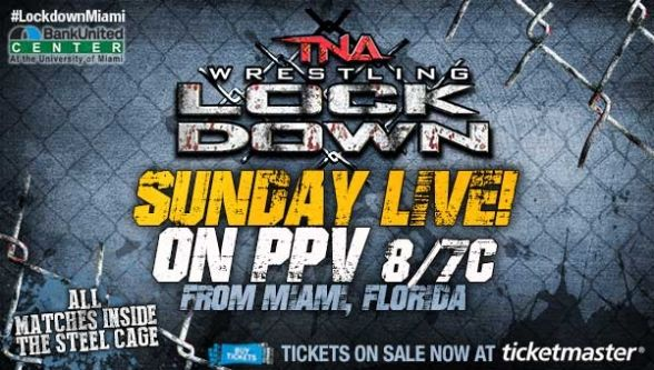 Watch TNA Lockdown 2014