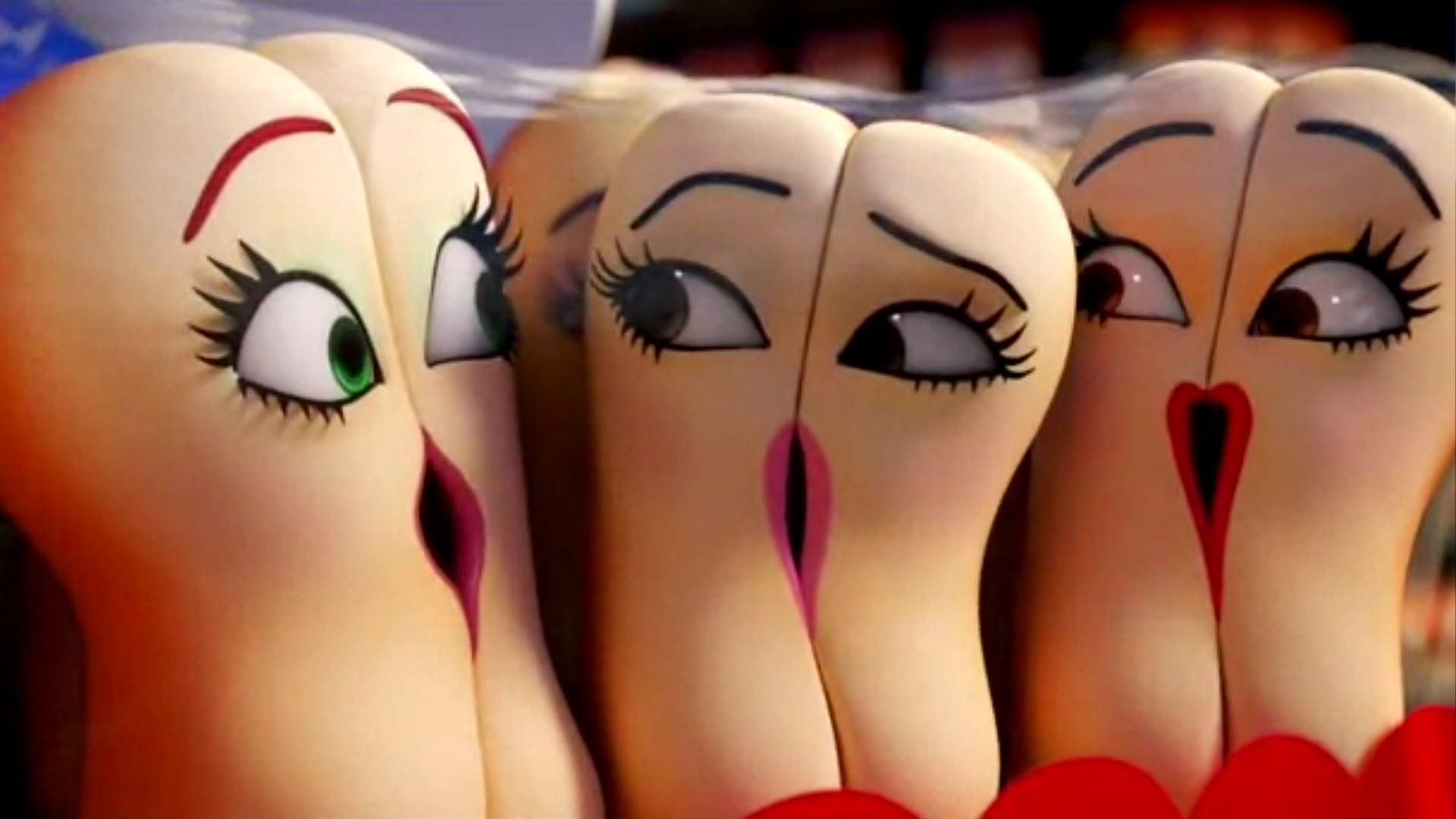 The Antagonist In Sausage Party Is A Douche No Literally It Was Touches Sausage Party Things With Faces Movie Facts