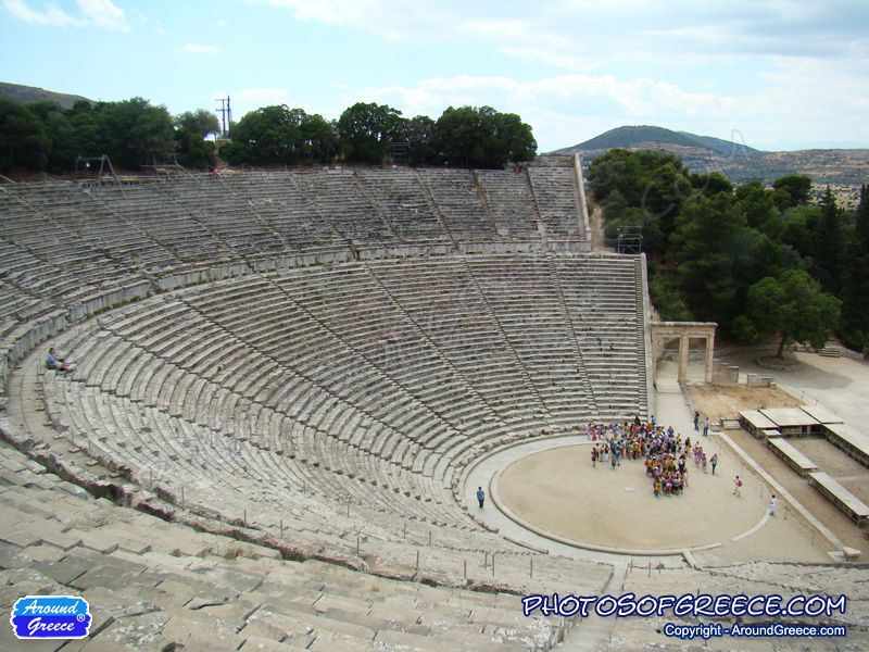 The ancient theatre of Epidaurus is one of the most fascinating and impressive archaeological sites in Greece. Located in the county of Argolida in the Peloponnese, it is a place that every visitor to Greece should experience