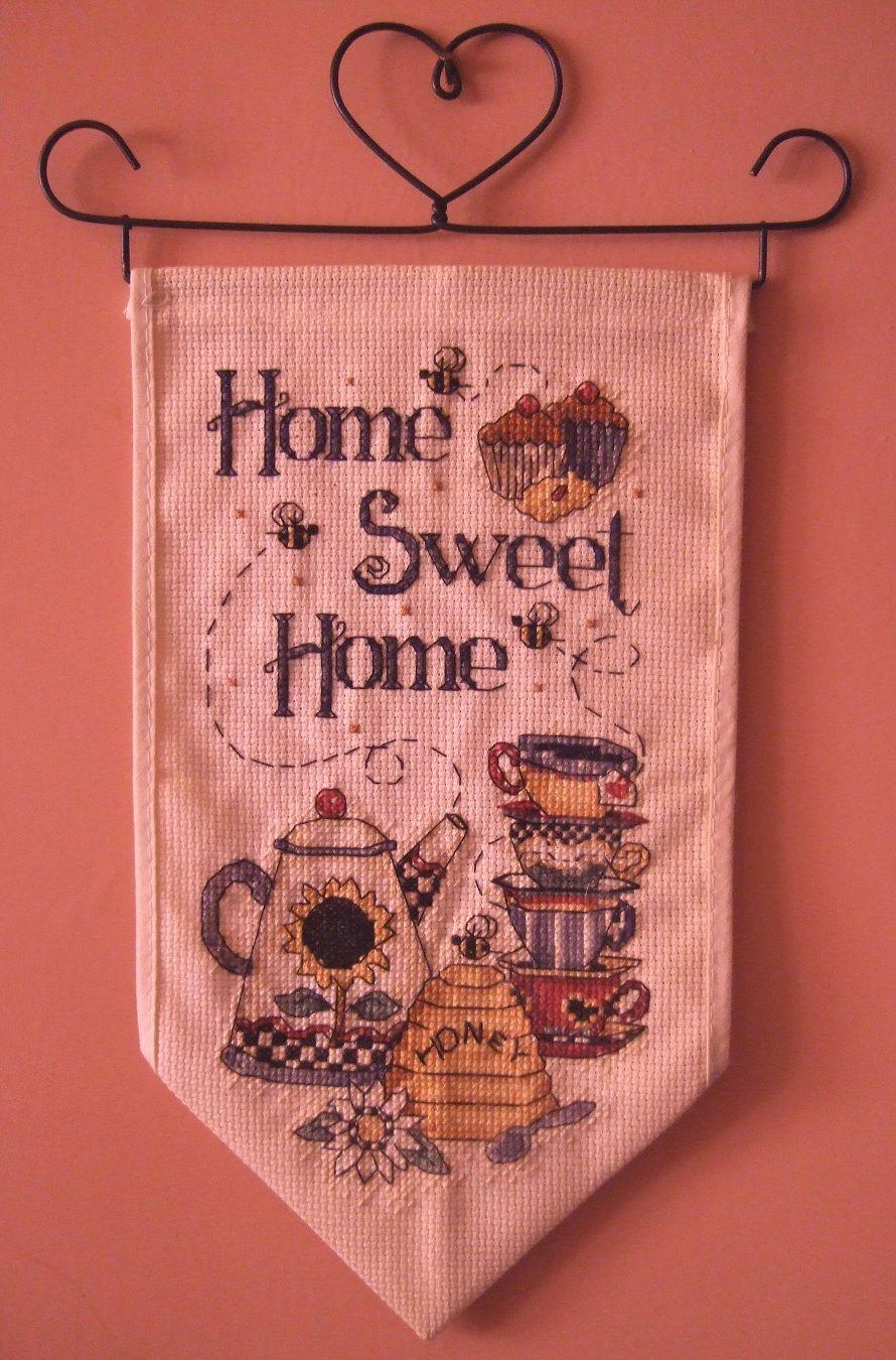 Cross-stitch wall hanging. | X STITCH | Pinterest