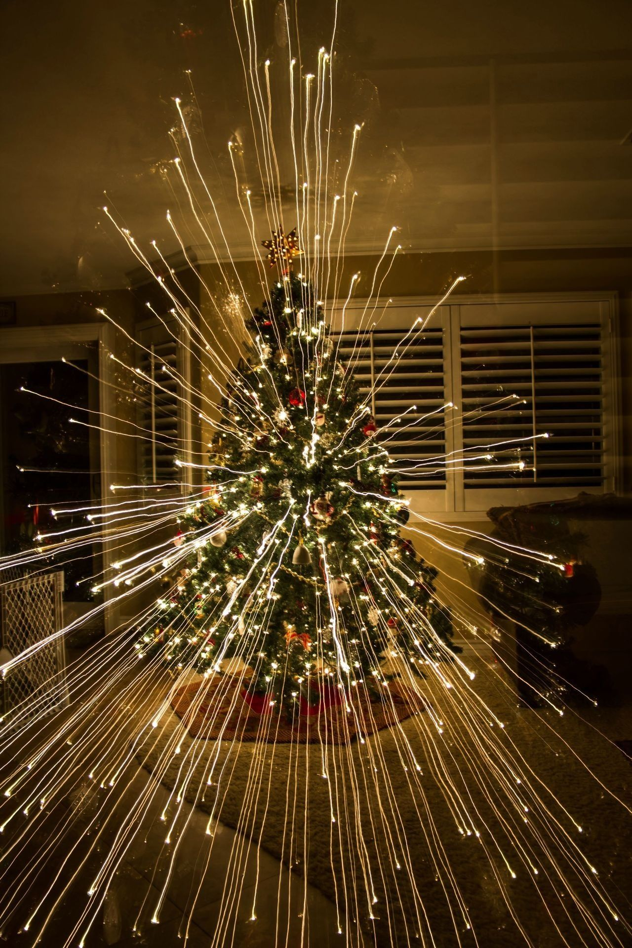 Christmas- I did this with your tree.