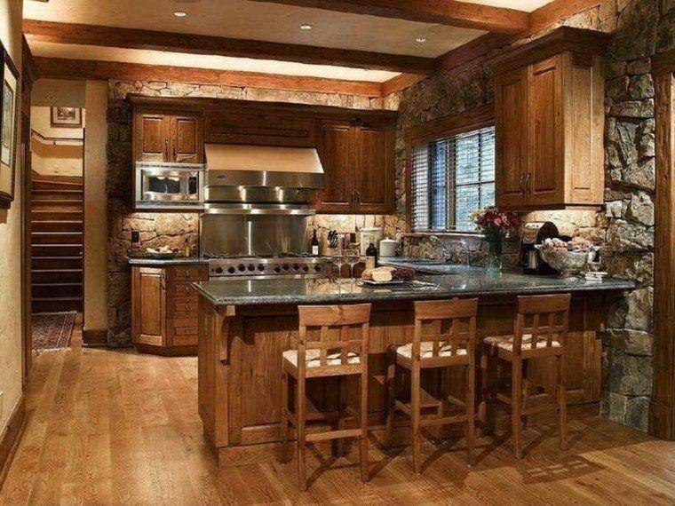 cocinas-modernas-italianas-madera-granito-gallery Bosque - cocinas italianas