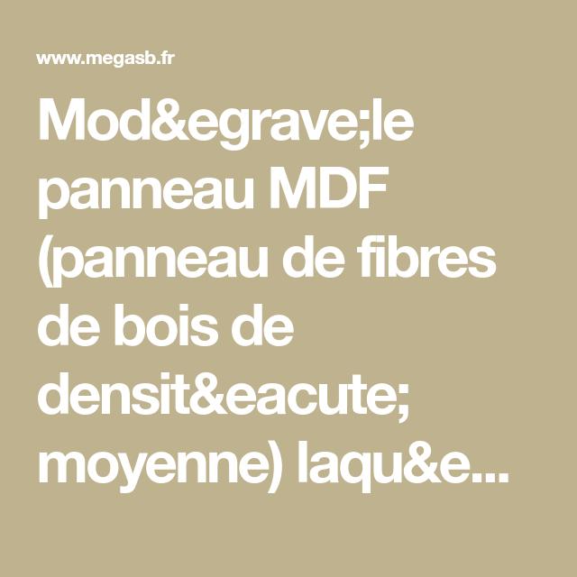 Modèle Panneau Mdf Panneau De Fibres De Bois De Densité
