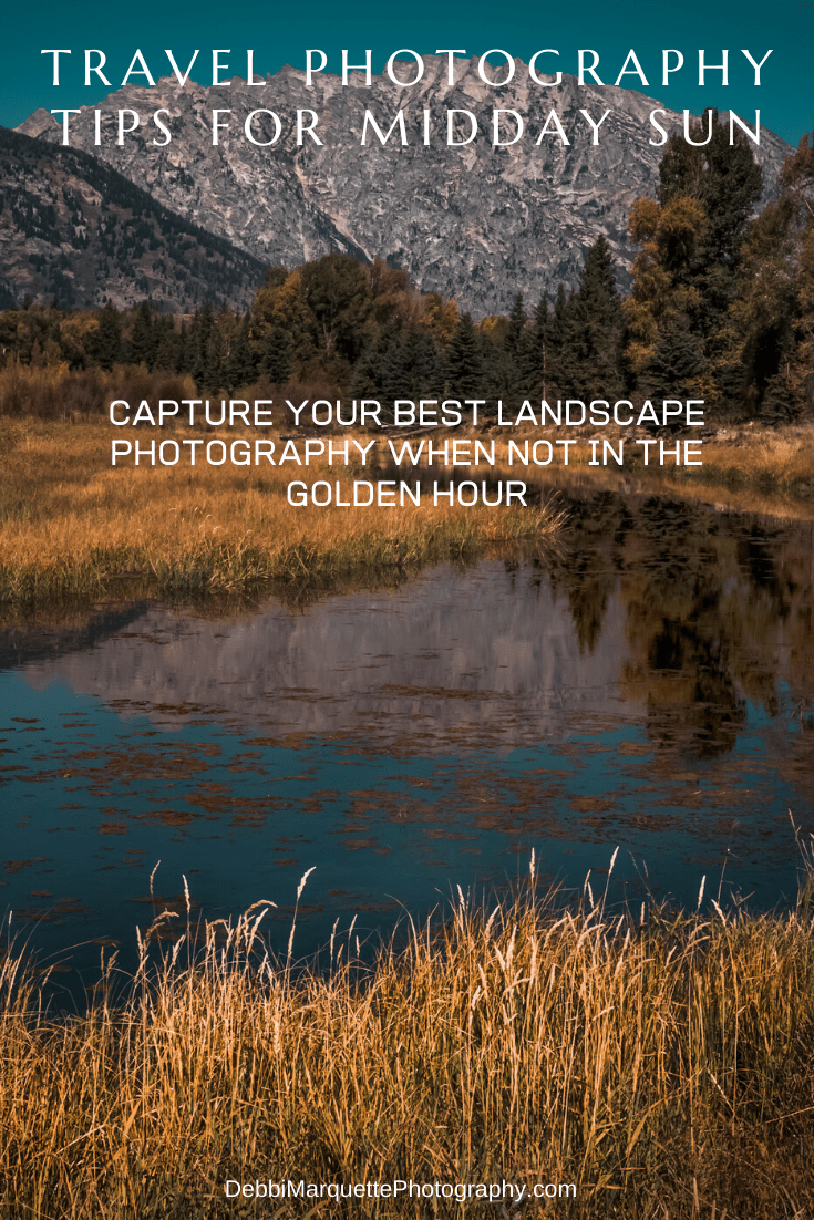Are you about to embark on a great vacation? While we know we should take landscape photos in the golden hours, sometimes with travel photography it is just not possible. There are ways to get good landscape photography prints during midday sun. Read more for some helpful tips. #photographytips #landscapephotographytips #middaysunphotography #middaysunlight