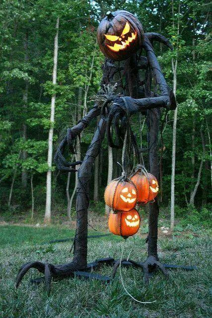 Pumpkin Man Classy Halloween Halloween Outdoor Decorations Classy Halloween Decor