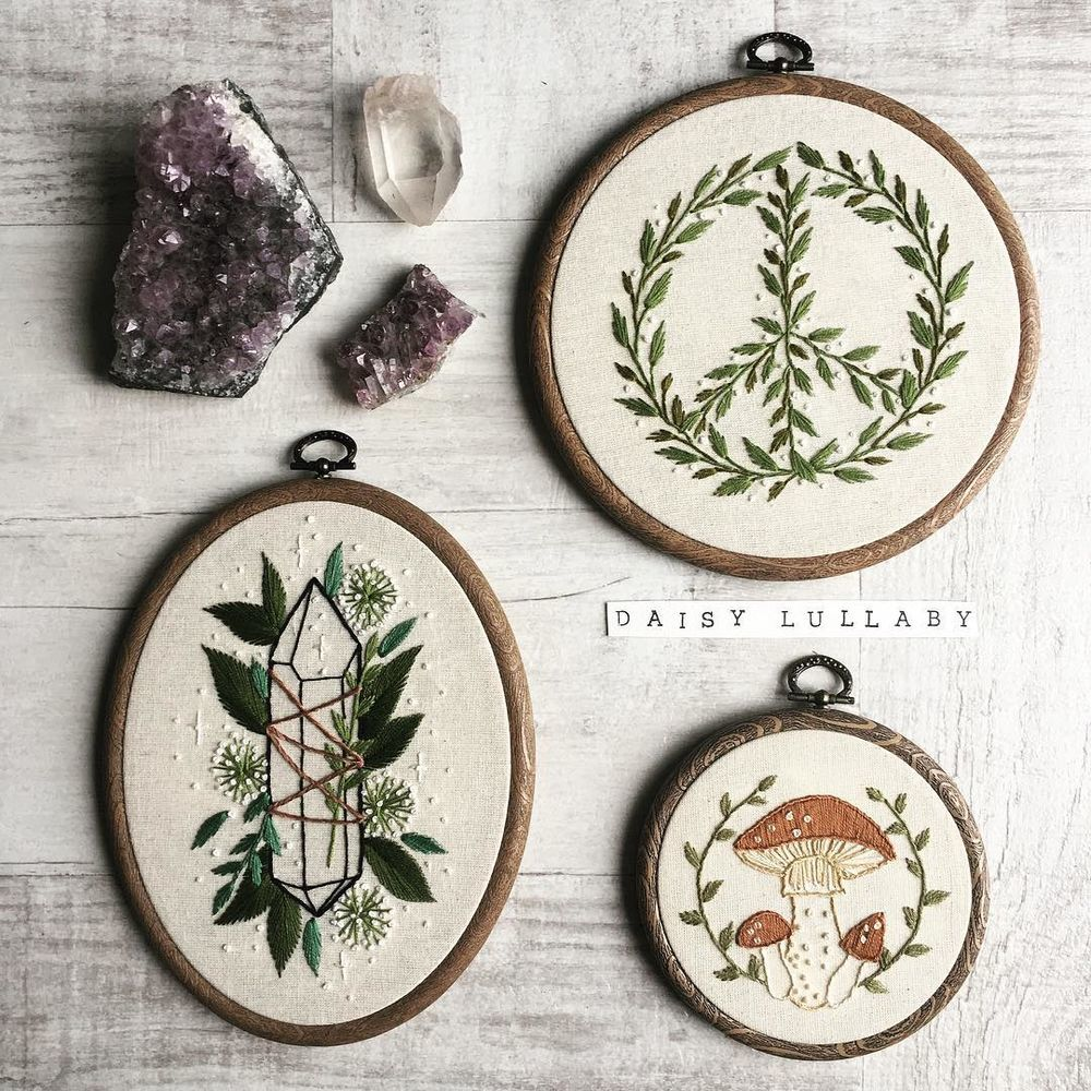 Witch Embroidery: 20 Works by Paige Ashleigh for those who Believe in Magic | Журнал Ярмарки Мастеров
