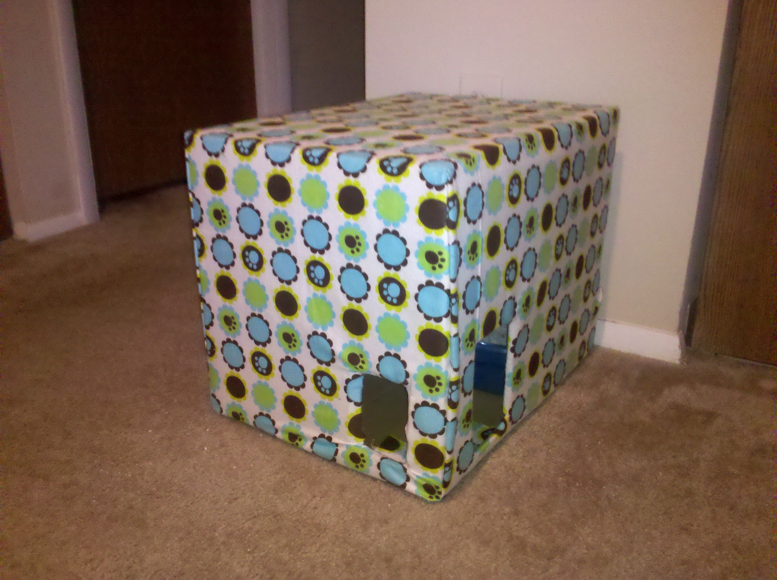 Diy Litter Box Cover Incredibly Easy And Cheap Very Useful If