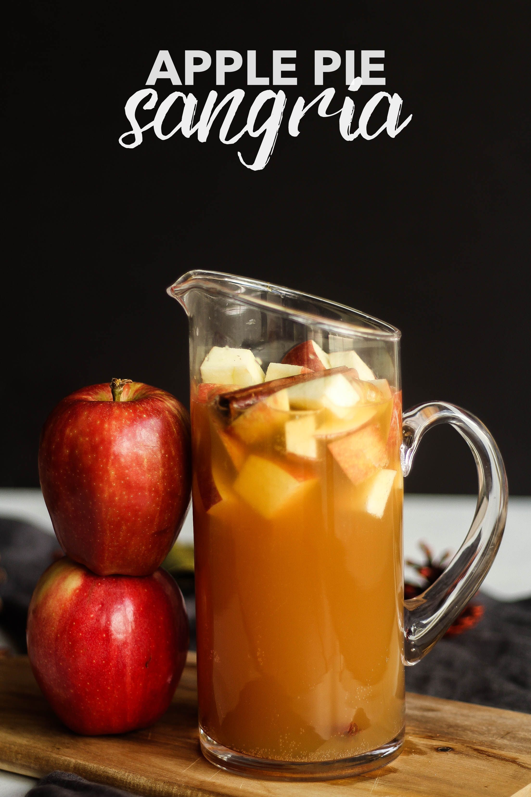 Apple Pie Sangria #falldrinks
