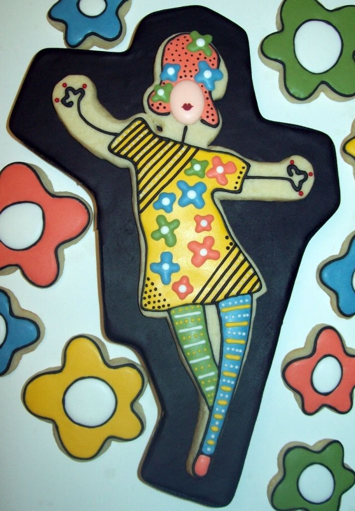 lady cookie is inspired by fabulous artwork by Keri Joy - created by Jillfcs