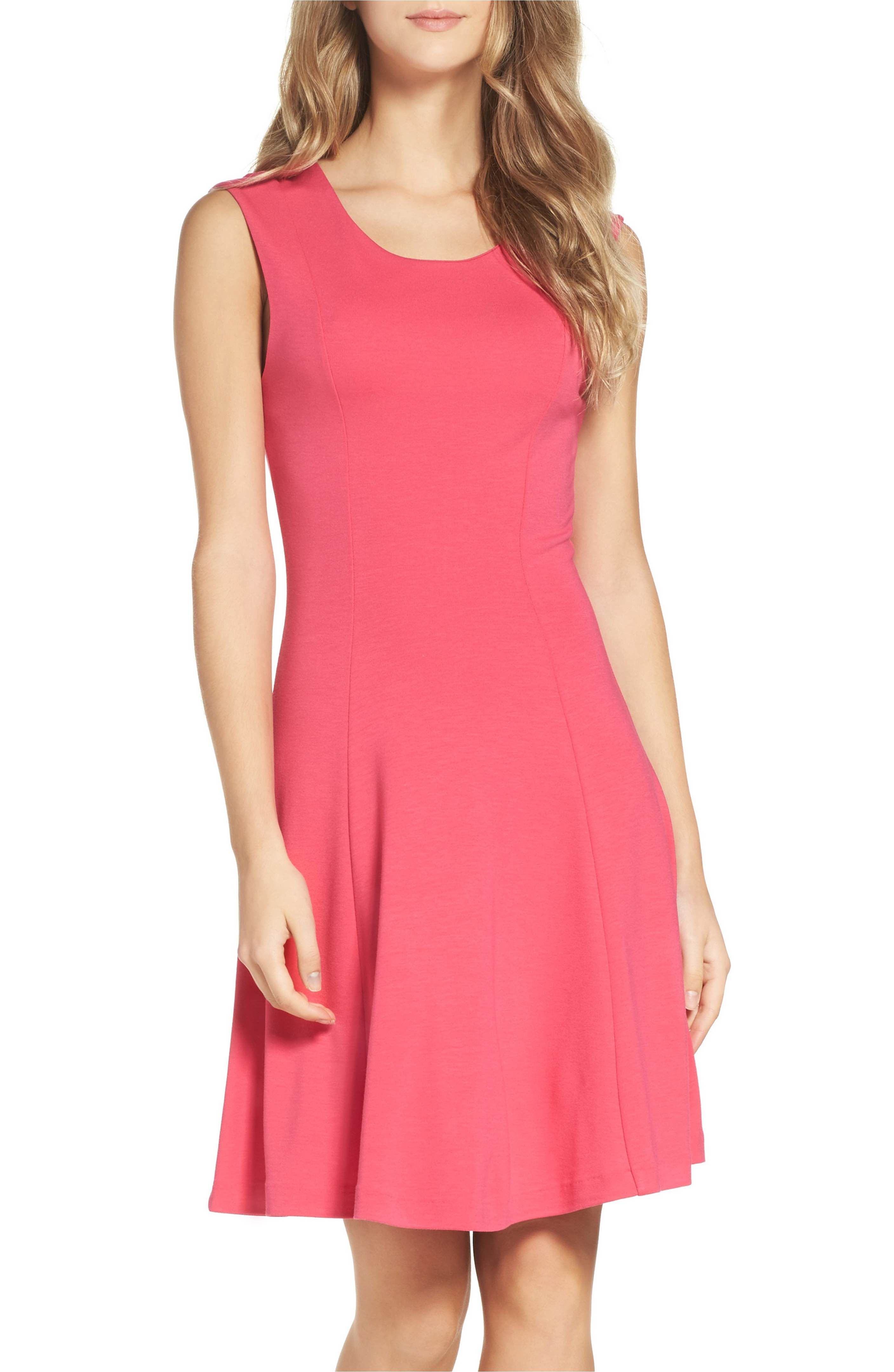 French connection botero fit flare dress nordstrom