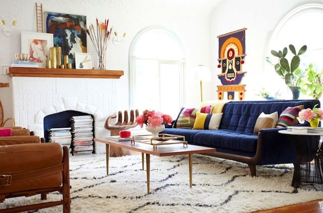 Modern Bohemian Sitting Rooms Mid Century Ideas Furniture Ecelectic