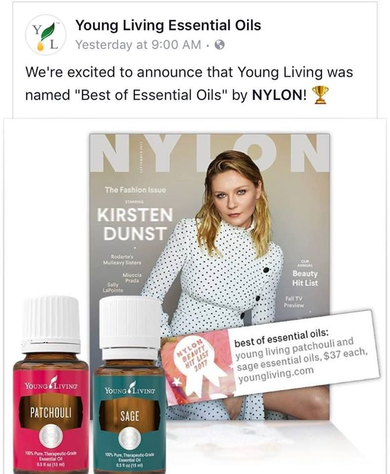 Young Living does it again! Coincidence....I don't think so!