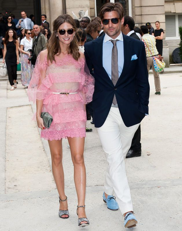 Olivia Palermo y Johannes Huebl | moda | Pinterest | Parejas, Moda ...