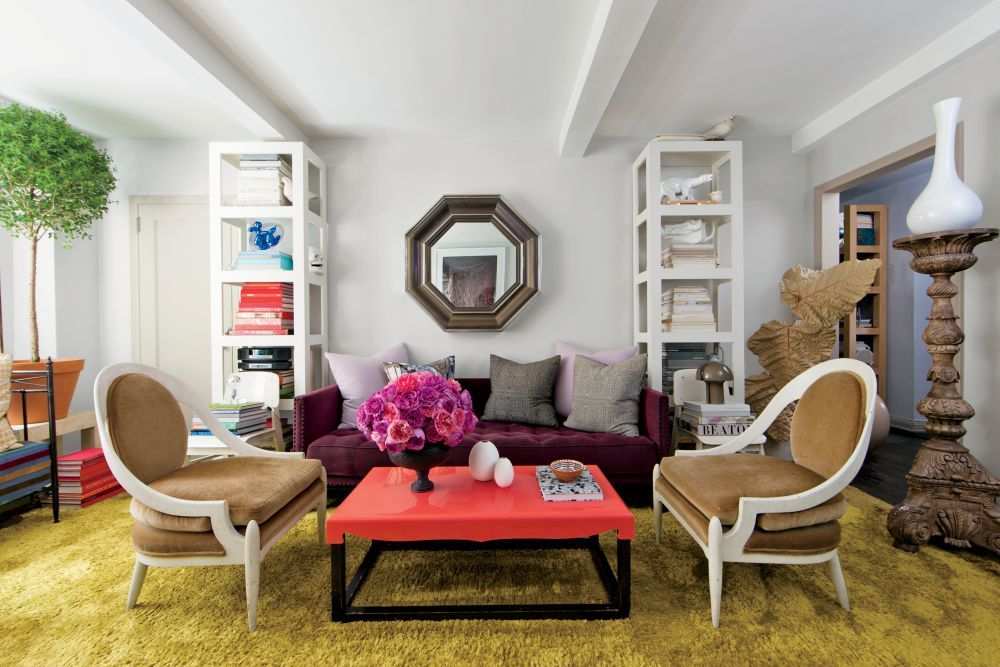 Exotic Living Room By Carlos Mota In New York, New York