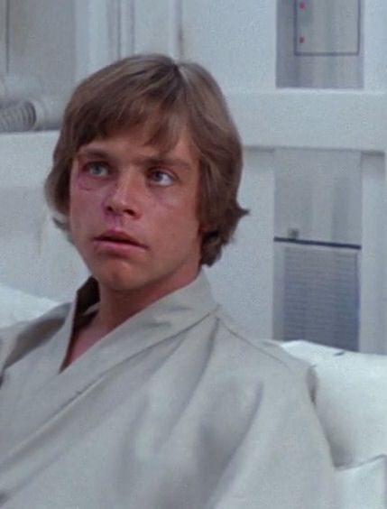 Image result for mark hamill as luke skywalker