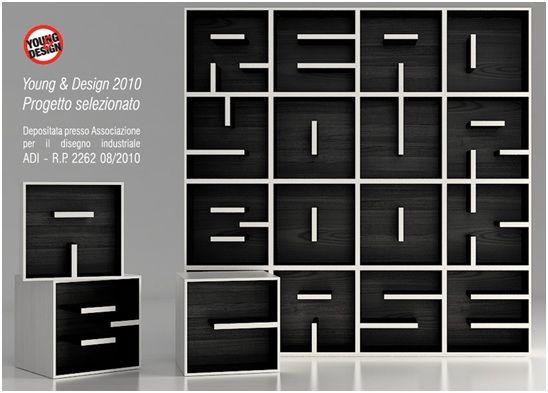 Delightful Ideas De Negocios #16. Muebles Creativos E Innovadores. Una Muy Buena Forma  De. BookcasesCreative BookshelvesModular ...