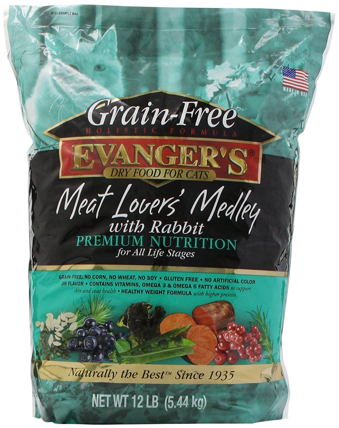 Evangers 776605 grain free meat lovers medley with