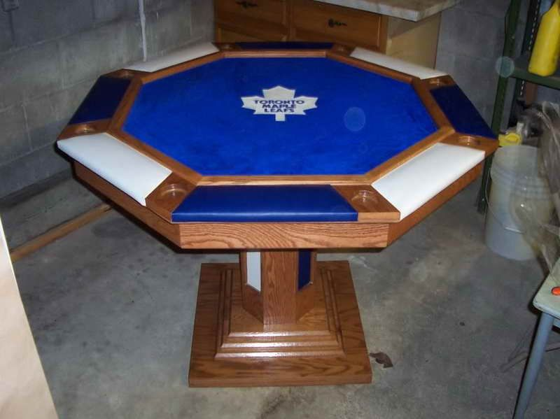 Octagon Poker Table Top For Your Entertainment Room
