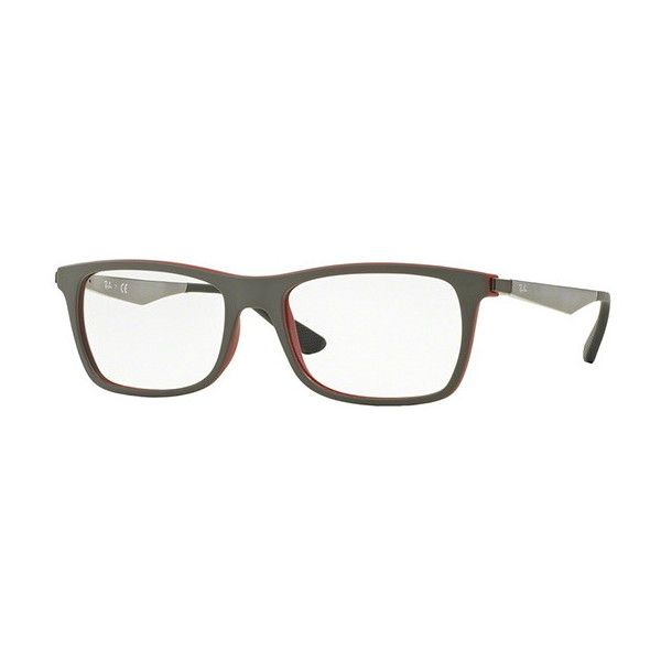 009e450c85b2f Ray-Ban RX7062 Active Lifestyle 5576 Eyeglasses ( 108) ❤ liked on Polyvore  featuring