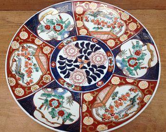 Big Imari Decorative Plate 芸術作品 作品