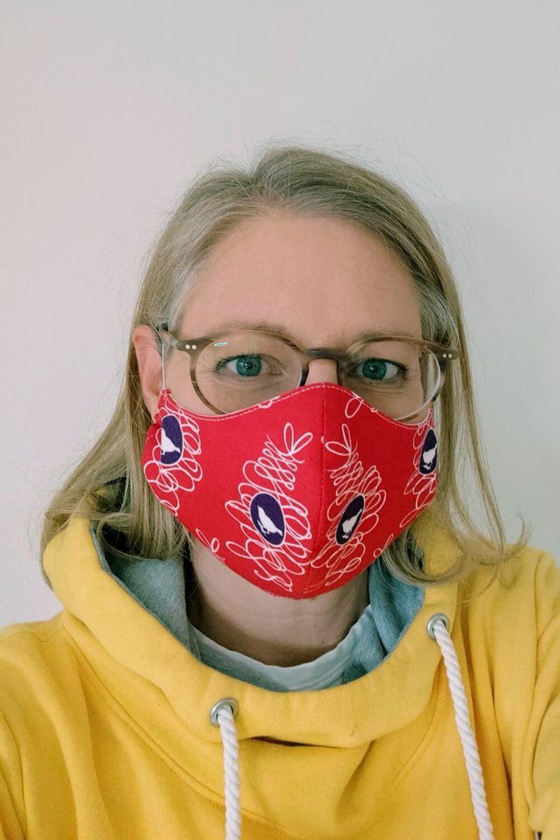 Atemschutzmaske mit Filter nähen So geht's 💡 in 2020