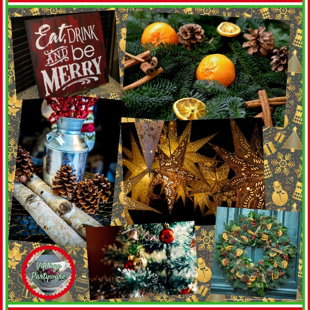 Amazing Post Christmas Party Ideas Part - 14: Christmas Decorations | Office Christmas Party Ideas | Blog Post From  Vintage Partyware | Wedding And